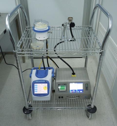 USP 797 Air Sampling Device